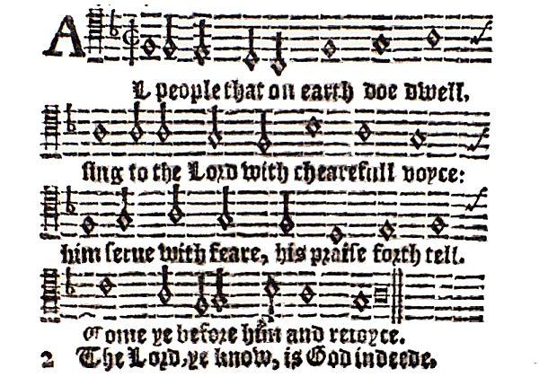 Old Hundredth Sternold Hopkins_(1628)