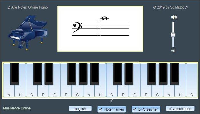 Alle Noten anzeigen Piano Online